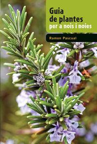 guia de plantes per a nois i noies - Ramon Pascual Lluvia