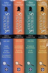 SHERLOCK HOLMES - OBRAS COMPLETAS (4 VOLS. )