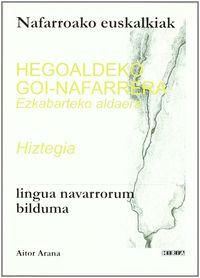 HEGOALDEKO GOI-NAFARRERA EZKABARTEKO ALDERA HIZTEGIA - NAFARROAKO EUSK