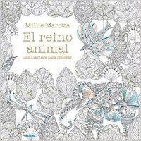 El  reino animal  -  Una Aventura Para Colorear - Millie Marotta
