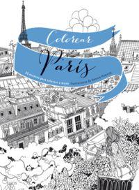 Colorear Paris - 20 Escenas Para Colorear A Mano - Hennie Haworth