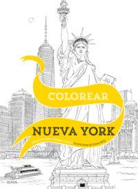 Colorear Nueva York - 20 Escenas Para Colorear A Mano - Emma Kelly