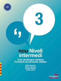 NOU CURS CATALA INTERMEDI 3