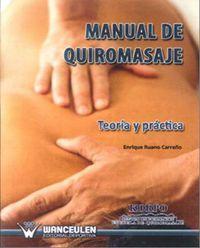MANUAL DE QUIROMASAJE - TEORIA Y PRACTICA