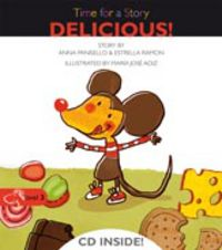 Level 3 - Delicious! - Time For A Story (+cd) - Anna Pansello