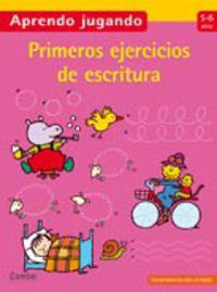 Primeros Ejercicios De Escritura (5-6 Años) - Aa. Vv.