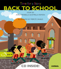 Level 4 - Back To School - Time For A Story (+cd) - Anna Panisello