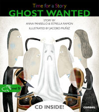 Level 5 - Ghost Wanted - Time For A Story (+cd) - Anna Panisello