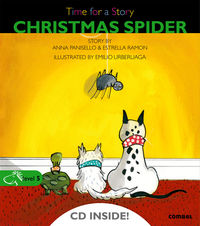 LEVEL 5 - CHRISTMAS SPIDER - TIME FOR A STORY (+CD)