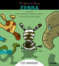 Level 6 - Zebra - Time For A Story (+cd) - Anna Panisello