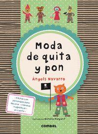 Moda De Quita Y Pon - Angels  Navarro  /  Natalia   Margarit (il. )