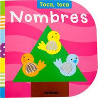 NOMBRES - TOCA, TOCA