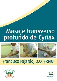 (dvd) Masaje Transverso Profundo De Cyriax - Francisco Fajardo