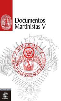 Documentos Martinistas V - Aa. Vv.