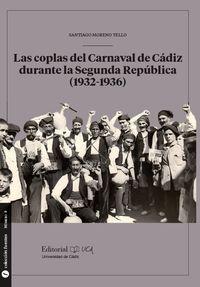 COPLAS DEL CARNAVAL DE CADIZ DURANTE LA SEGUNDA REPUBLICA, LAS (1932-1936)