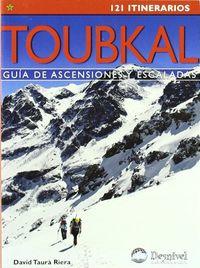 Toubkal - Guia De Ascensiones Y Escaladas - 121 Itinerarios - David Taura
