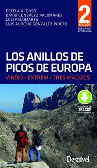 (2 ED) ANILLOS DE PICOS DE EUROPA, LOS - VINDIO, EXTREM, TRES MACIZOS