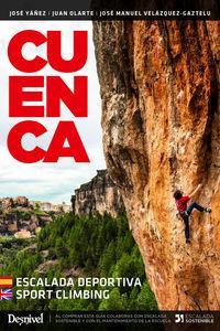 (3 Ed) Cuenca - Escalada Deportiva = Sport Climbing - Jose Manuel Velasquez-Gaztelo / Juan Olarte / Jose Yañez