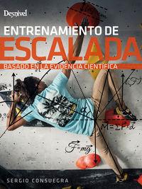 entrenamiento de escalada basado en la evidencia cientifica - Sergio Consuegra