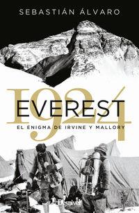 EVEREST 1924 - EL ENIGMA DE IRVINE Y MALLORY