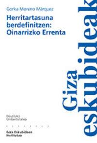 HERRITARTASUNA BERDEFINITZEN - OINARRIZKO ERRENTA - GIZA ESKUBIDEAK