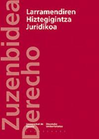 LARRAMENDIREN HIZTEGIGINTZA JURIDIKOA