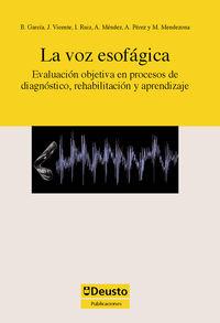 La voz esofagica - Aa. Vv.