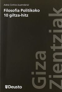 FILOSOFIA POLITIKOKO 10 GILTZA-HITZ