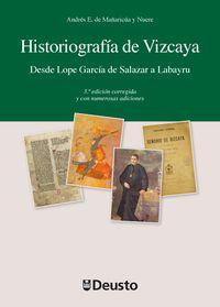 HISTORIOGRAFIA DE VIZCAYA (3ª ED)