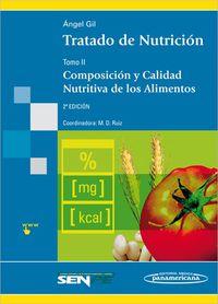 Tratado De Nutricion - Tomo Ii - Angel Gil Hernandez