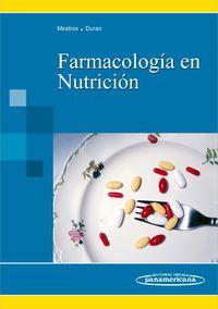 Farmacologia En Nutricion - Concepcio  Mestres  /  Marius  Duran