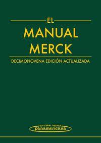 Manual Merck (19ª Ed. ) - Aa. Vv.
