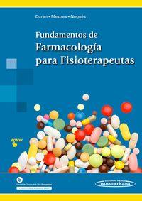 FUNDAMENTOS DE FARMACOLOGIA PARA FISIOTERAPEUTAS