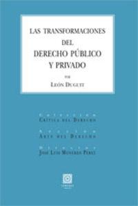 TRANSFORMACIONES DEL DERECHO PUBLICO Y PRIVADO, LAS