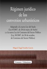 REGIMEN JURIDICO DE LOS CONVENIOS URBANISTICOS