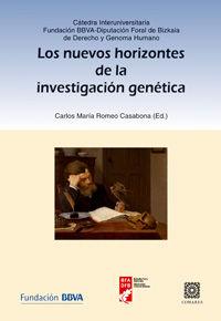 NUEVOS HORIZONTES DE LA INVESTIGACION GENETICA, LOS