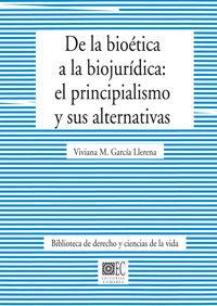 De La Bioetica A La Biojuridica - Viviana M. Garcia Llerena
