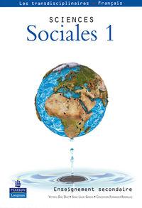 Eso - Sciences Sociales 1 - Aa. Vv.