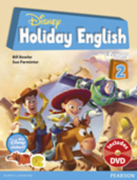 Disney Holiday English 2 - Sue  Parminter  /  Bill  Bowlker