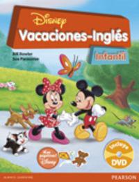 3 / 4 / 5 Años - Vacaciones Disney Ingles - Sue Parminter