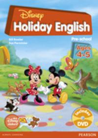 Disney Holiday English Pre-school - Sue  Parminter  /  Bill  Bowler
