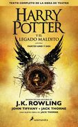 Harry Potter Y El Legado Maldito - J. K. Rowling