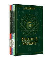 (PACK) BIBLIOTECA HOGWARTS - ANIMALES FANTASTICOS Y DONDE ENCONTRARLOS / CUENTOS DE BEEDLE EL BARDO, EL / QUIDDITCH A TRAVES DE LOS TIEMPOS