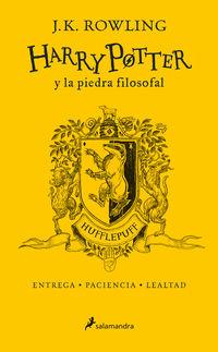 Harry Potter Y La Piedra Filosofal (hufflepuff) (ed. 20 Aniversario) - Amarillo - J. K. Rowling