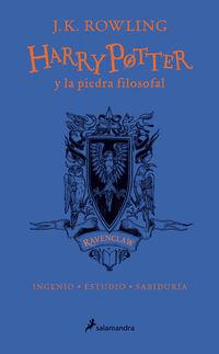 Harry Potter Y La Piedra Filosofal (ravenclaw) (ed. 20 Aniversario) - Azul - J. K. Rowling