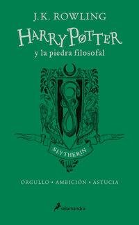 Harry Potter Y La Piedra Filosofal (slytherin) (ed. 20 Aniversario) - Verde - J. K. Rowling