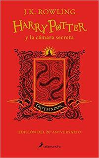 Harry Potter Y La Camara Secreta (gryffindor) (ed. 20 Aniversario) - Rojo - J. K. Rowling