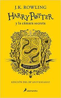 Harry Potter Y La Camara Secreta (hufflepuff) (ed. 20 Aniversario) - Amarillo - J. K. Rowling