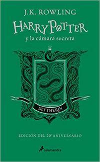 Harry Potter Y La Camara Secreta (slytherin) (ed. 20 Aniverario) - Verde - J. K. Rowling