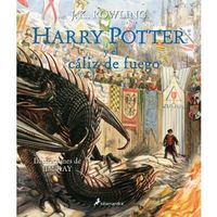HARRY POTTER Y EL CALIZ DE FUEGO (ILUSTRADO)